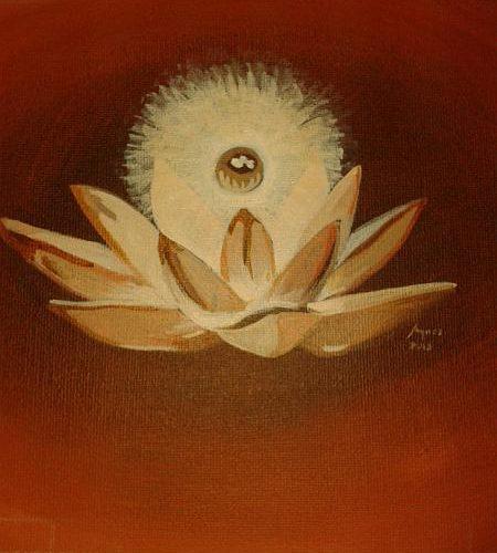 Lotus op yogazolder