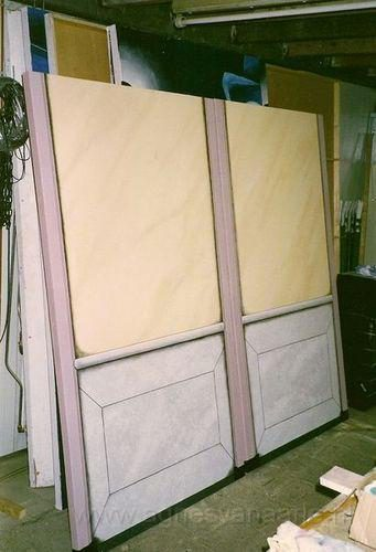 Panelen in marmerimitatie